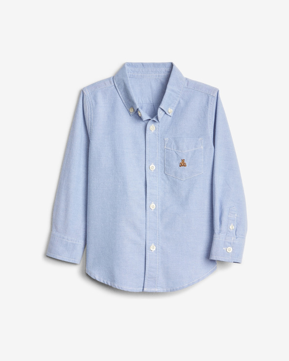 GAP Oxford Button-Down Cămașă pentru copii Albastru