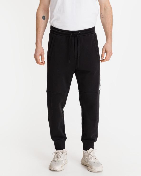 Calvin Klein Mirror Logo Pantaloni de trening Negru