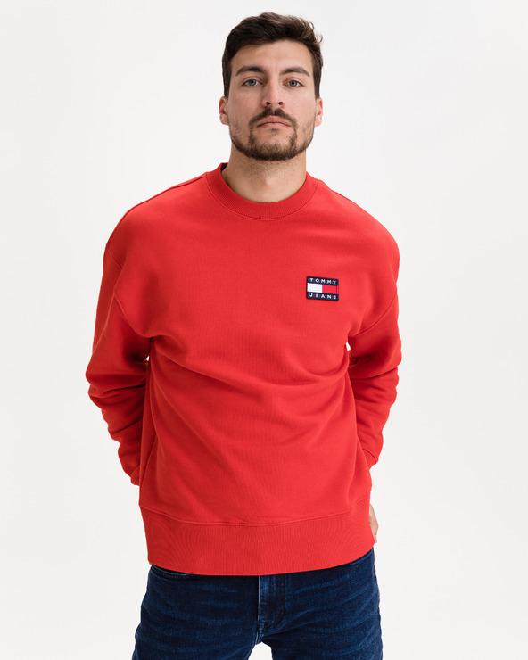 Tommy Jeans Badge Hanorac Roșu