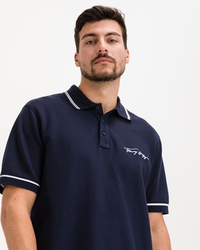 Tommy Hilfiger Tipped Signature Polo triko