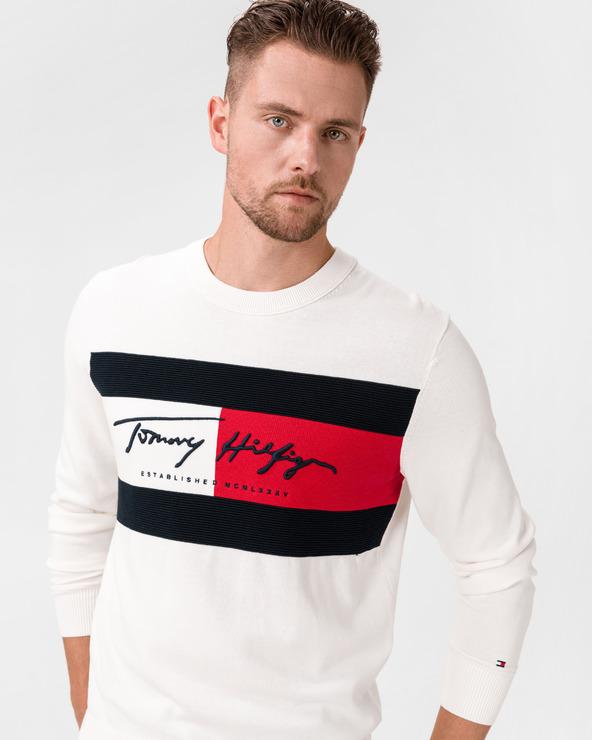 Tommy Hilfiger Pullover Weiß