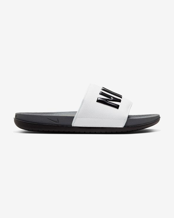 Nike Offcourt Pantoffeln Weiß Grau