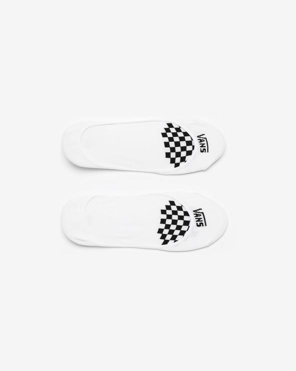 Vans Girly No Show Socken Weiß