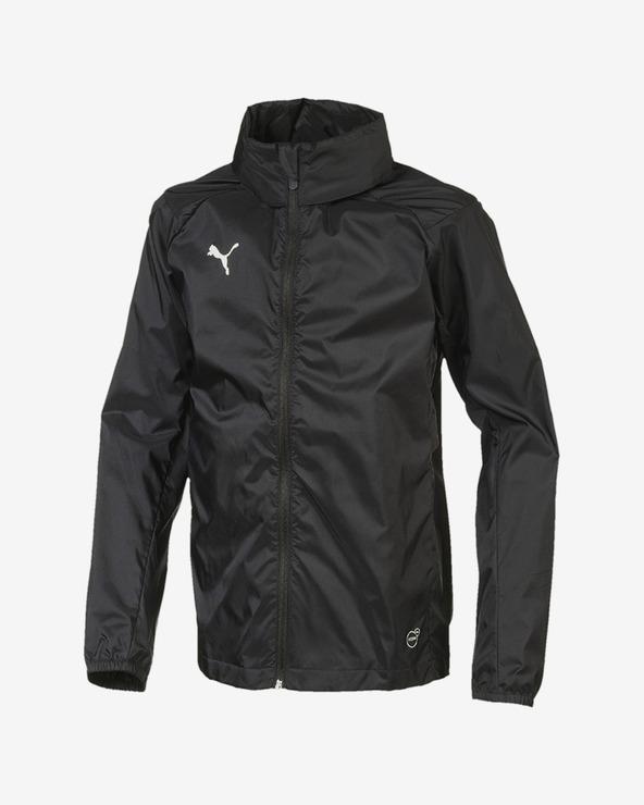 Puma Liga Trg Rain Core Kids Jacket Schwarz mehrfarben