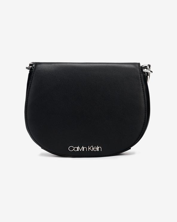 Calvin Klein Chain Saddle Handtasche Schwarz