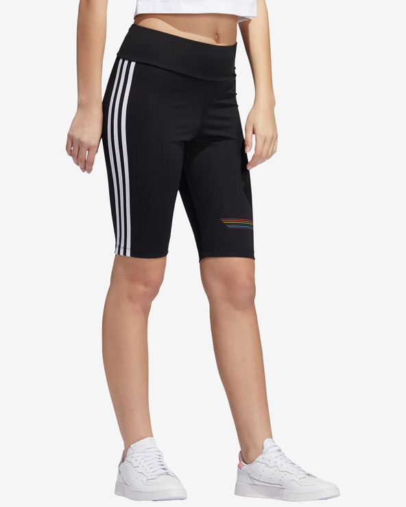 adidas Originals Pride Bike Shorts Schwarz