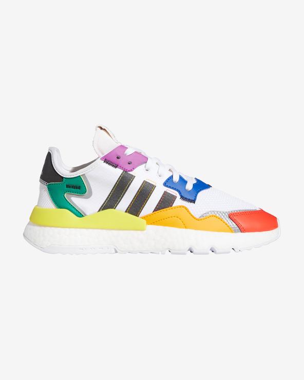 adidas Originals Pride Nite Jogger Tennisschuhe Weiß mehrfarben
