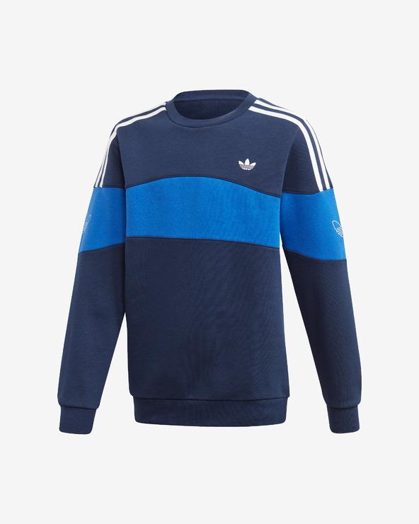 adidas Originals Bandrix Sweatshirt Kinder Blau