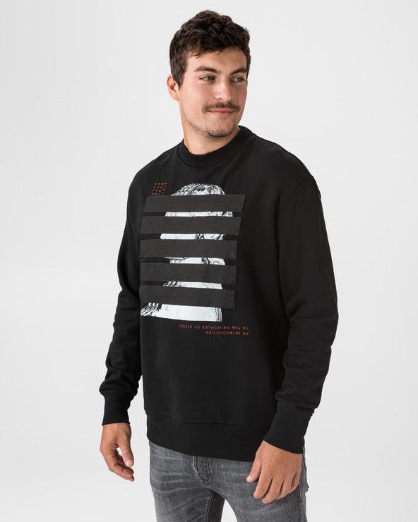 Diesel S-Bay Sweatshirt Schwarz