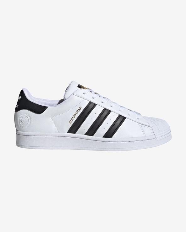 adidas Originals Superstar Vegan Tennisschuhe Weiß