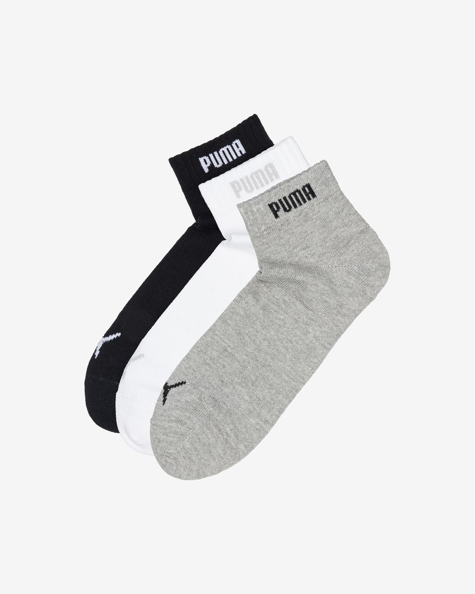 Puma - Quarter-V Set of 3 pairs of socks Bibloo.com
