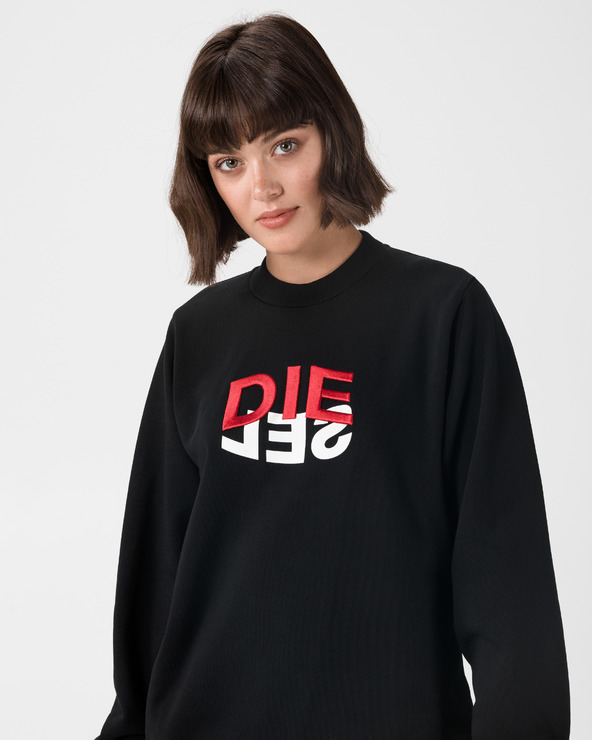 Diesel F-Ang Sweatshirt Schwarz