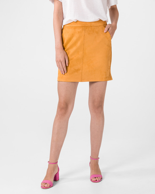 Vero Moda Donnadina Skirt Gelb