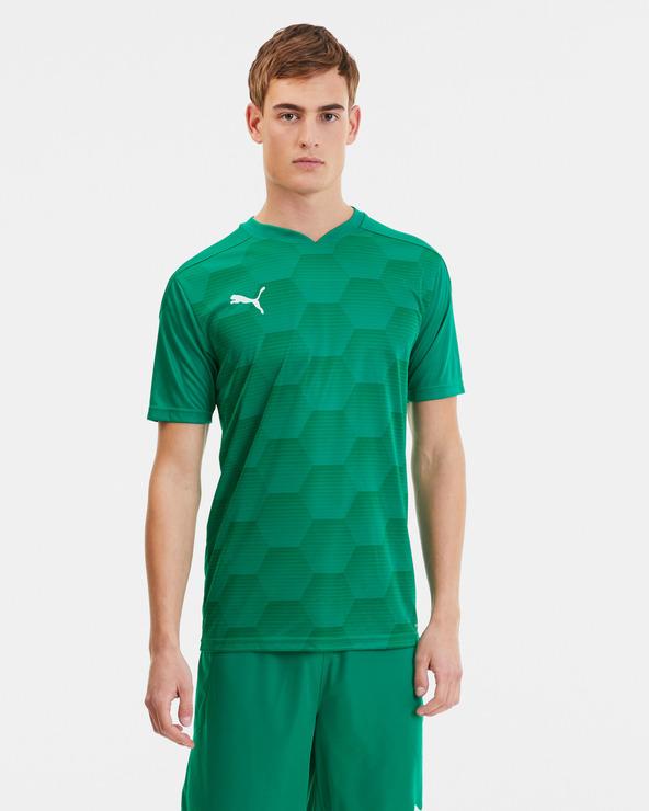 Puma teamFINAL 21 Tricou Verde