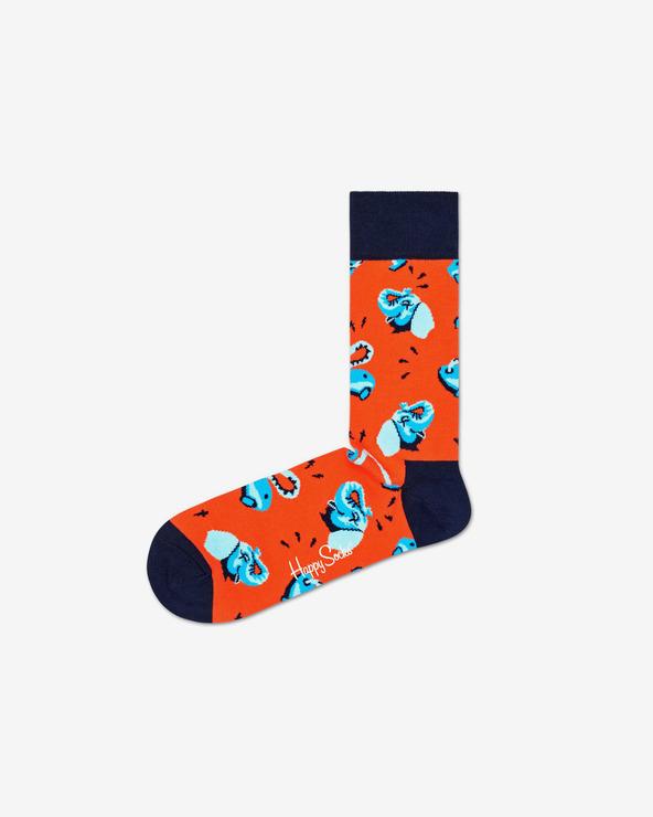 Happy Socks Clean Elephant Socken Rot