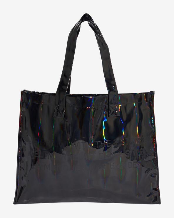 adidas Originals Metallic Shopper Tasche Schwarz